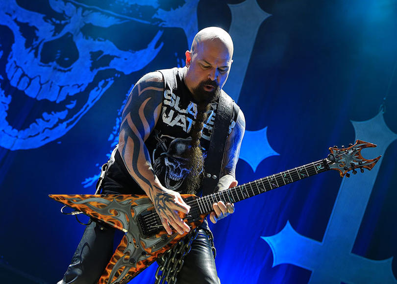 Slayer: There are rock stars, and there are rock LEGENDS. Slayer is in that second category. They helped pioneer thrash rock, forging a new sound in the fires of the mountains of the Rock Gods. Think that's a bit much? It's not nearly enough.