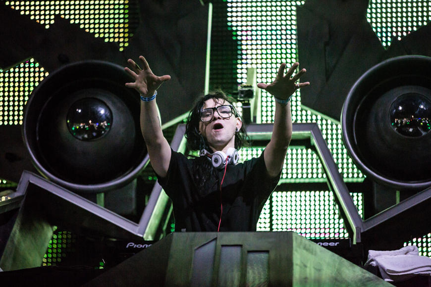Skrillex: Straight off Bonnaroo's Superjam, who knows what Skrillex will bring to the table? He proved he's got chops not only as a DJ, but as a guitar-playing other-worldly innovator.