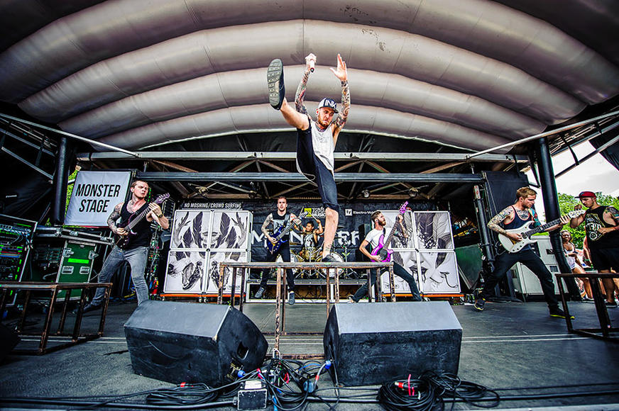 CHELSEA GRIN at Warped Tour