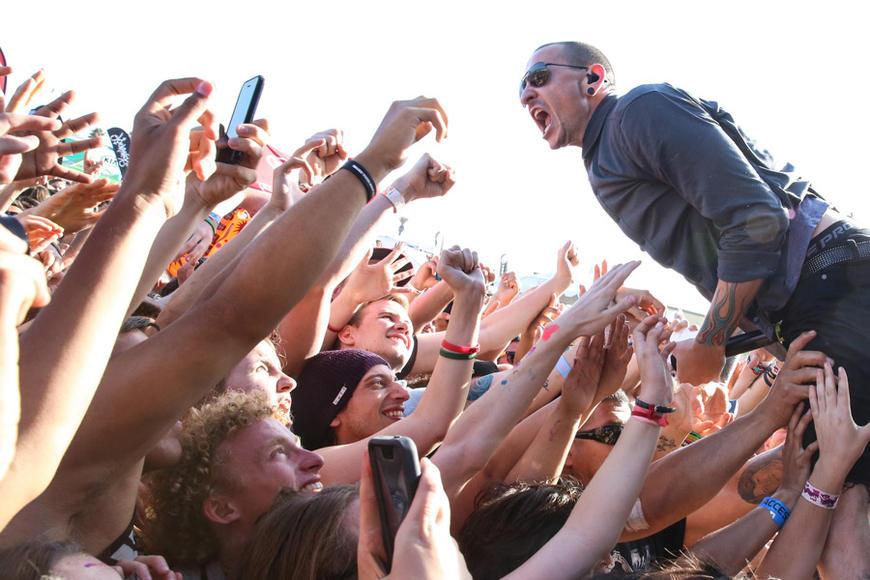 Linkin Park at Warped Tour - Ventura