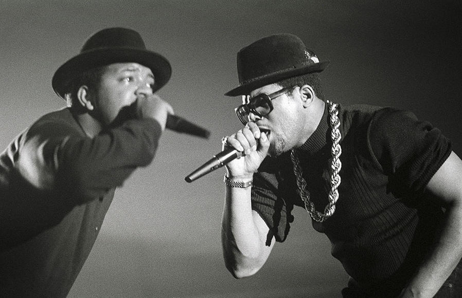 Run-D.M.C.: The kings of rock will teach you to walk this way even if it's tricky. Missed the references to hits that shaped 1980s rap? Get schooled in hip-hop history, fools.