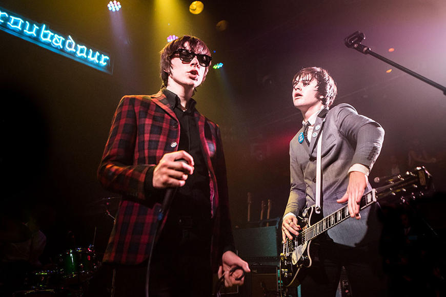 The Strypes: We hear David Letterman was so enamored, he offered to take them to laser tag. We love that these youngsters rock that hard—we hate that we missed Letterman laser tag.