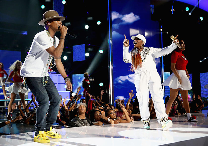 Pharrell and Missy Elliott