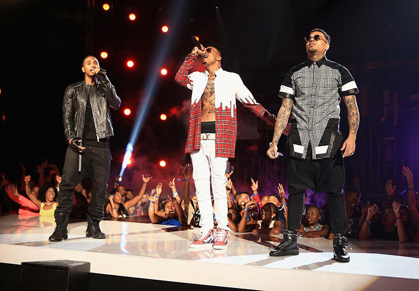 Trey Songz, August Alsina, Chris Brown