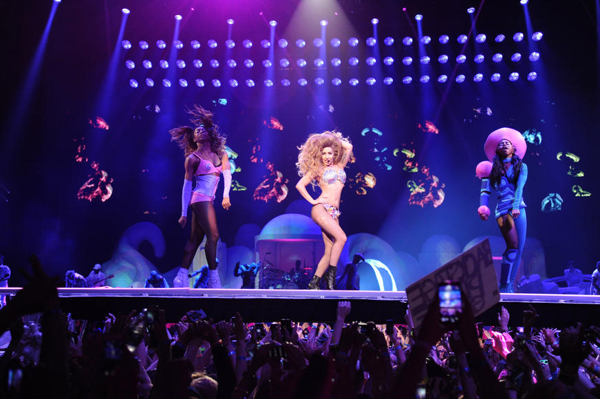 144 tour personnel including Lady Gaga, band, dancers, creative directors, stylists, production team, management staff, technicians, and drivers make up the touring team.