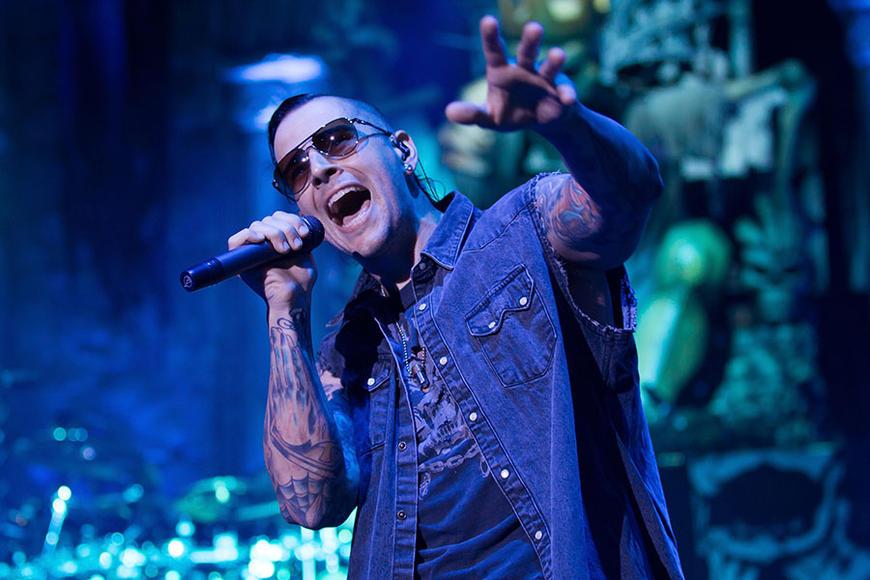 Avenged Sevenfold at Rockstar Energy Drink Mayhem Festival
