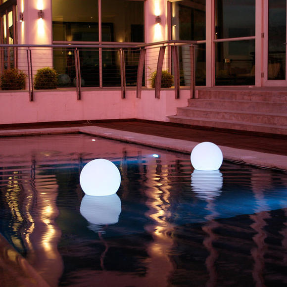 Glowing orb: Keep the party going long after the sun sets.