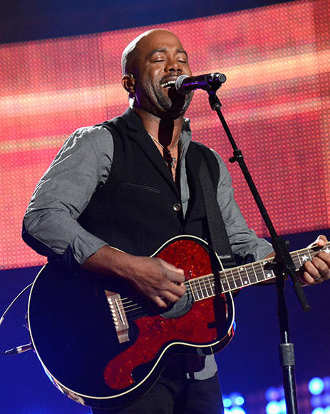 "Darius Rucker: No, he's not ""Hootie"" and there are no blowfish. The rock frontman has taken a country turn: going solo, going to Nashville and going to the top of the charts."