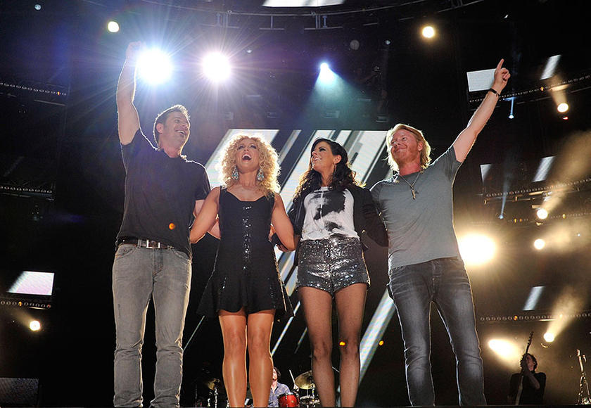 Little Big Town: Who needs a frontperson when you've got four incredibly talented vocalists at your disposal? If you don't believe that formula works, see these four to believe it.