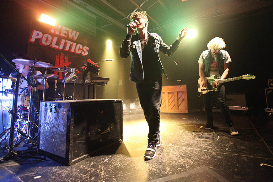 New Politics: Catchy rock is good, catchy rock with backflips is even better.  These up-and-comers will find a way to make you shake it like a bad girl up in Harlem.