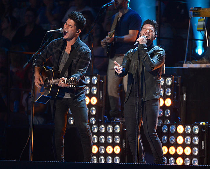 Dan + Shay: Neither Dan nor Shay is a stranger to music, but it wasn't until their powers combined that they became a force—like a country music Captain Planet.