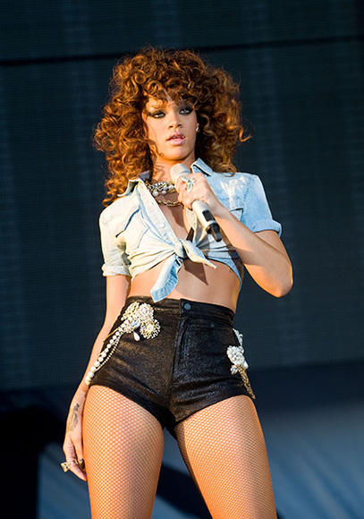 At the V Festival in Chelmsford, England