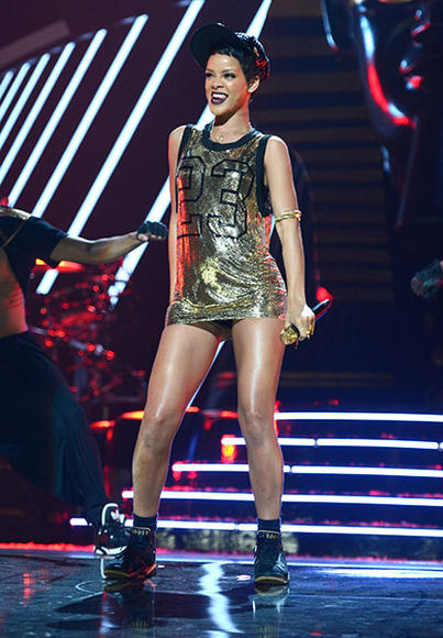 At the 2012 iHeartRadio Music Festival in Las Vegas, NV