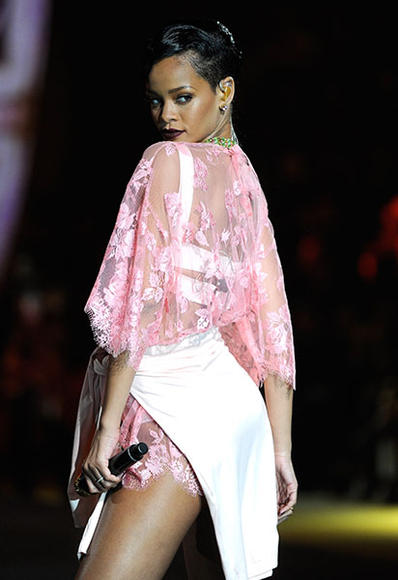 At the 2012 Victoria's Secret Fashion Show in New York, NY