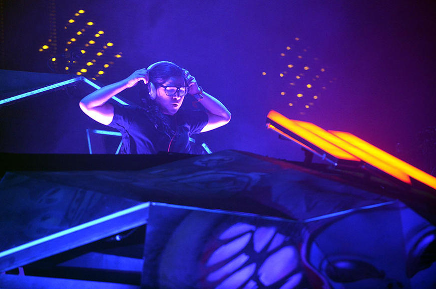 Skrillex at Lollapalooza