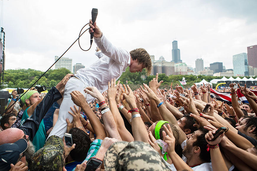 Cage the Elephant at Lollapalooza