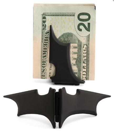 Batman Money Clip: Take control of your city—er, money.