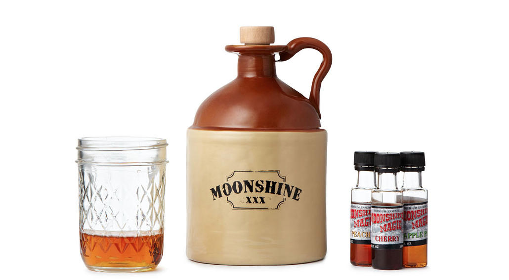 Moonshine Making Kit: A guy's DIY if there ever was one...