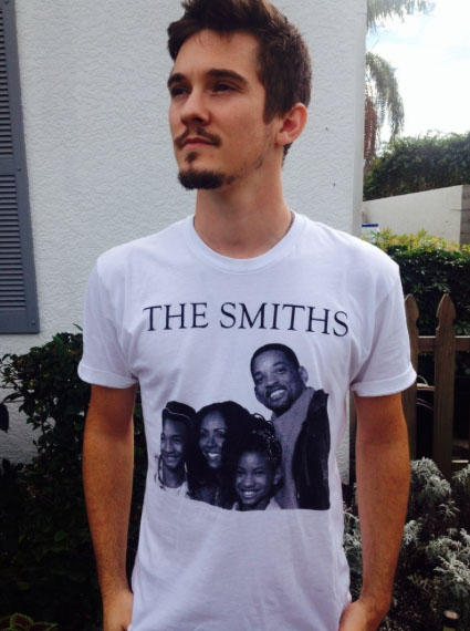 The Smith's Tee: Picture yourself chillin' out max & relaxin' all cool in this ironic tee.