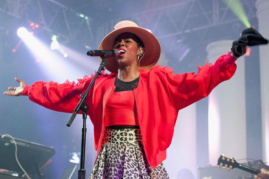 Ms. Lauryn Hill: Ready or not, here she comes. You can't hide—from this R&B icon's powerful vocals and MC skills. Go, my child, and get a Miseducation of Lauryn Hill.