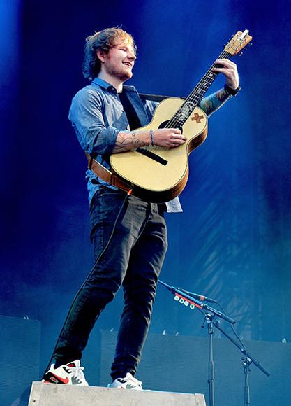 Ed Sheeran at V Festival