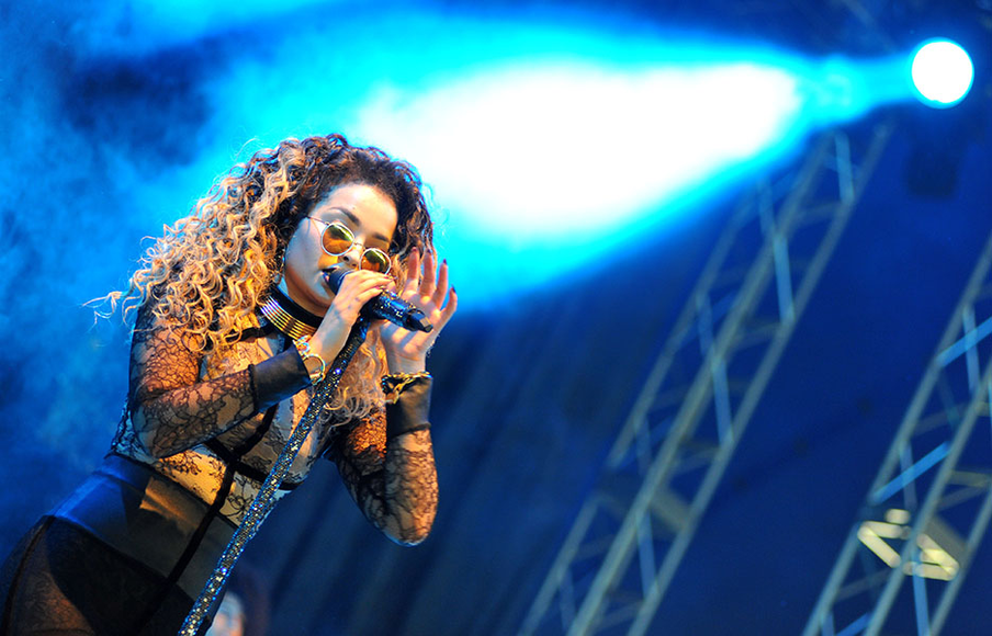 Ella Eyre at V Festival