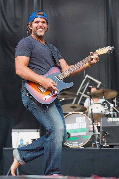 Billy Currington at the 2014 Watershed Festival