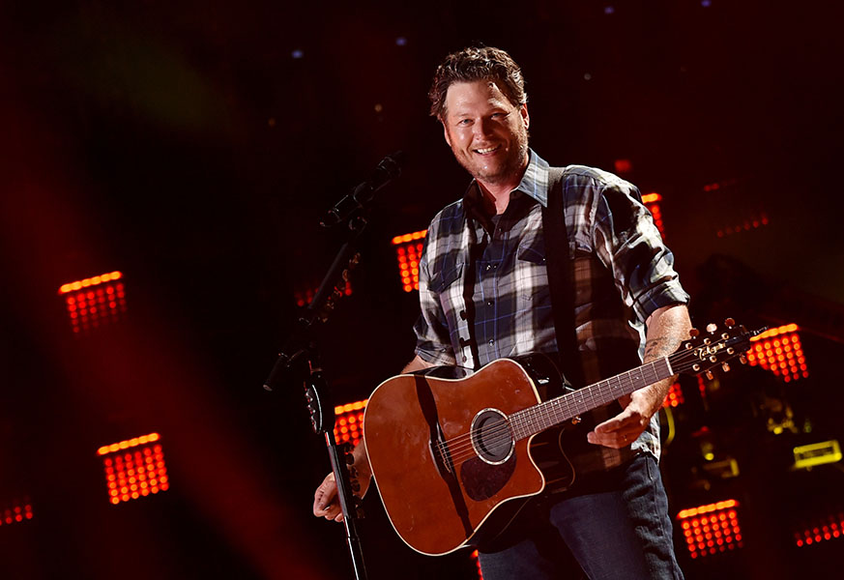 Blake Shelton at the 2014 CMA Festival
