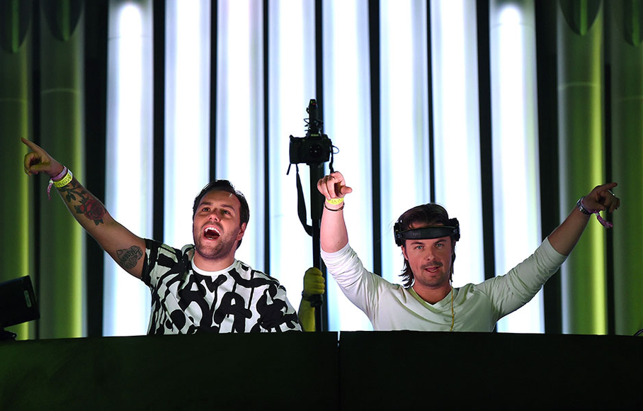 Axwell Ingrosso at EDC Las Vegas 2014