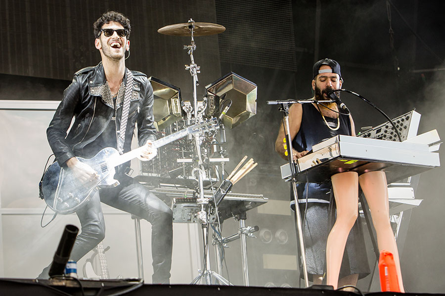 Chromeo at the 2014 Lollapalooza Music Festival