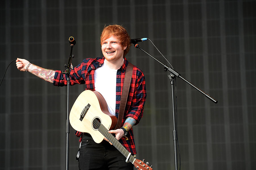 Ed Sheeran at Radio 1's Big Weekend