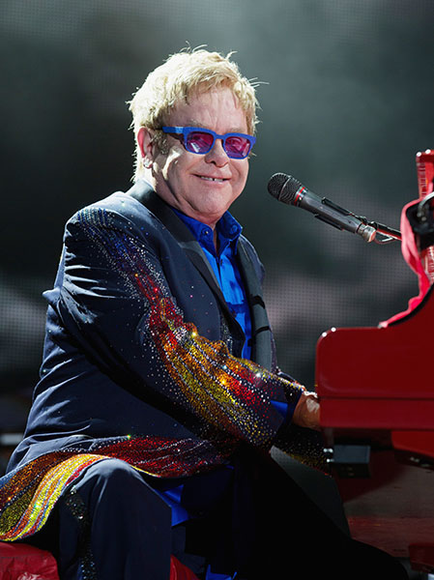 Elton John at the 2014 Bonnaroo Music and Arts Festival
