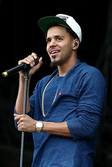 J. Cole at the 2014 Wireless Festival