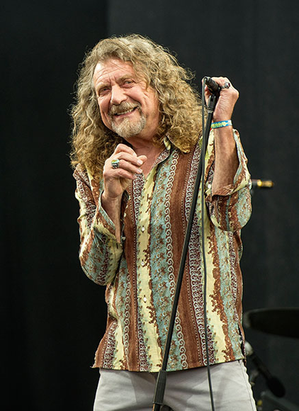 Robert Plant at the 2014 Glastonbury Festival