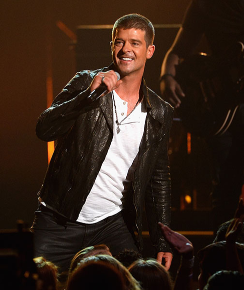 Robin Thicke at the 2014 Billboard Music Awards