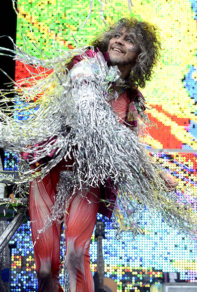 The Flaming Lips at the 2014 Outside Lands Music and Arts Festival