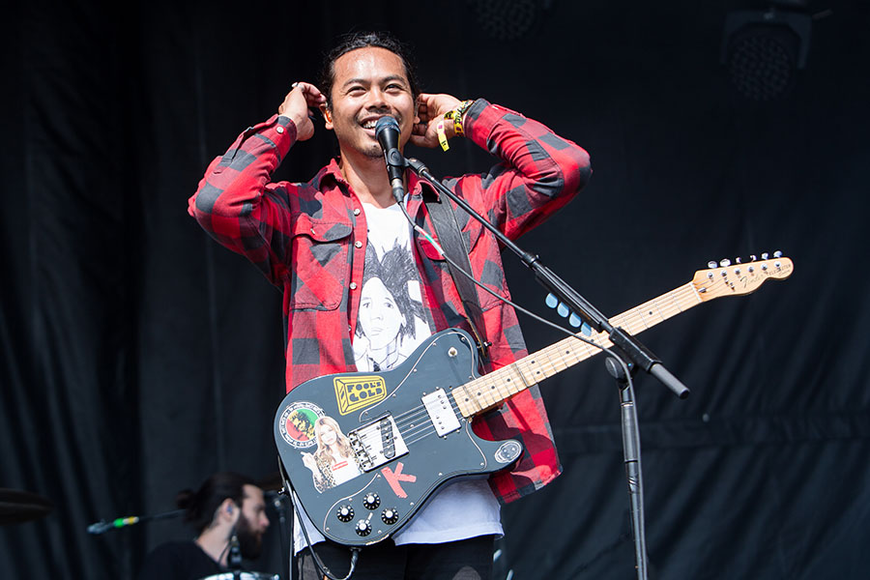 The Temper Trap at the 2014 Lollapalooza Music Festival