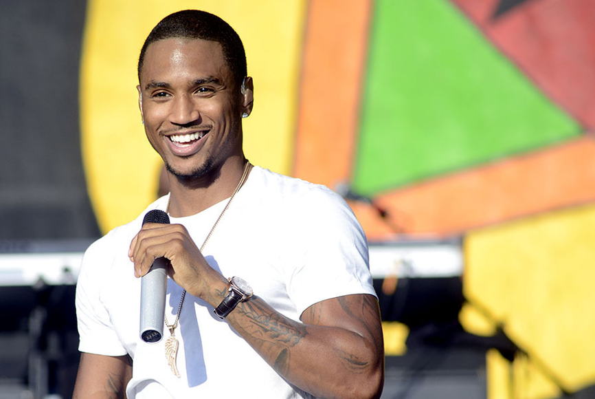 Trey Songz at the 2014 New Orleans Jazz and Heritage Festival