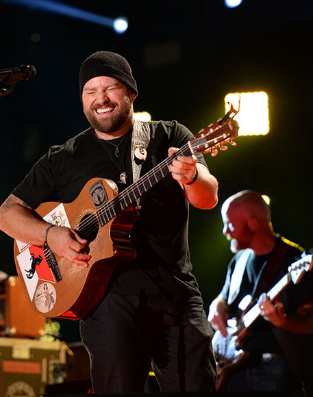 Zac Brown at the 2014 CMA Festival