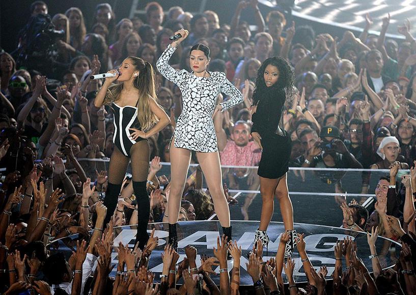 Ariana Grande, Jessie J and Nicki Minaj