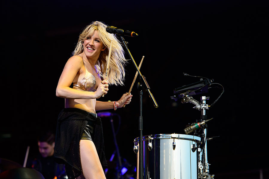 Ellie Goulding at the 2014 Glastonbury Festival