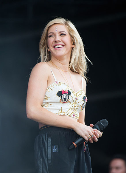 Ellie Goulding at the 2014 Wireless Festival