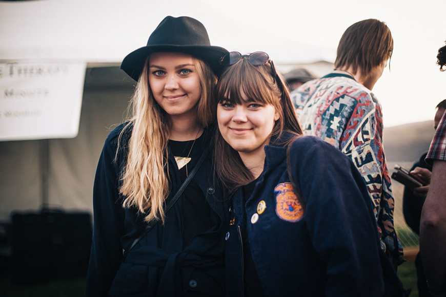 First Aid Kit at the 2014 Sasquatch Music Festival
