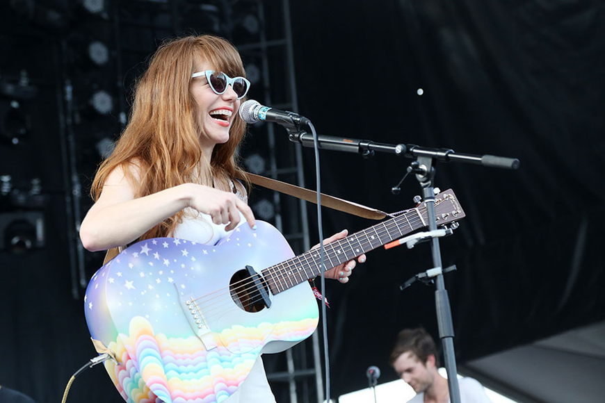 Jenny Lewis at the 2014 Governor's Ball Music Festival