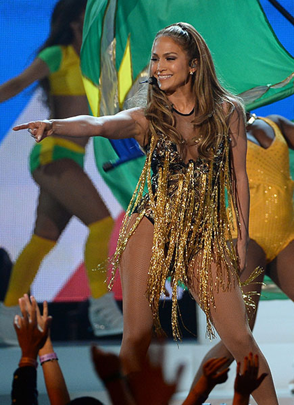 Jennifer Lopez at the 2014 Billboard Music Awards