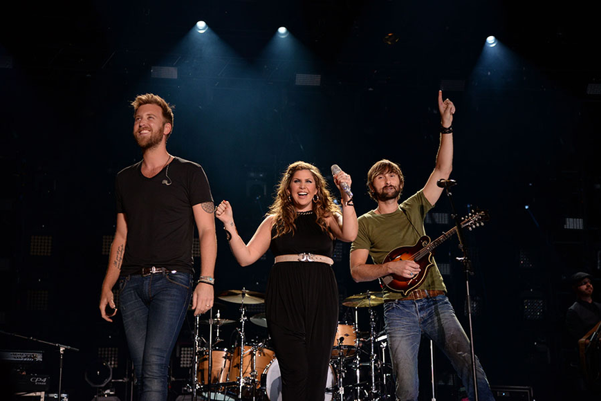 Lady Antebellum at the 2014 CMA Festival