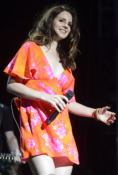 Lana Del Rey at the 2014 Coachella Valley Music and Arts Festival