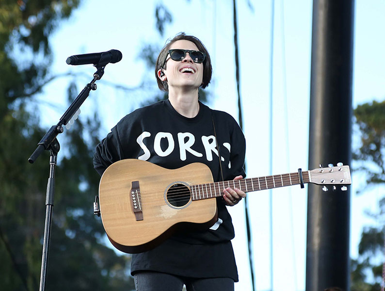 Tegan and Sara at the 2014 Outside Lands Music and Arts Festival