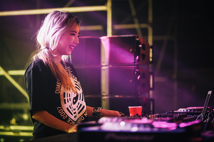 TOKiMONSTA at the 2014 Sasquatch Music Festival
