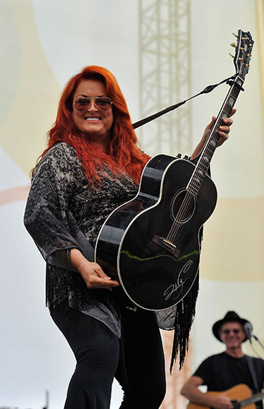 Wynonna Judd at the 2014 CMA Festival